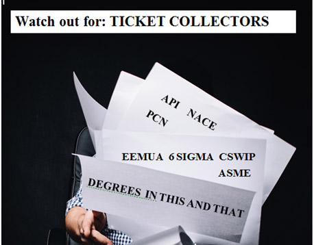 Watch out for Ticket Collectors