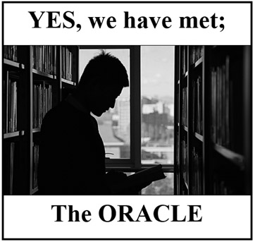 Would you like to meet the ORACLE?