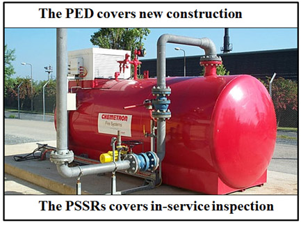 PED covers new construction