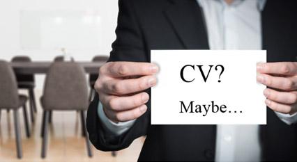 Exaggerated CVs