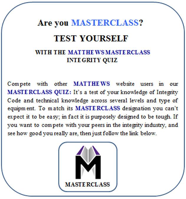 Matthews Masterclass